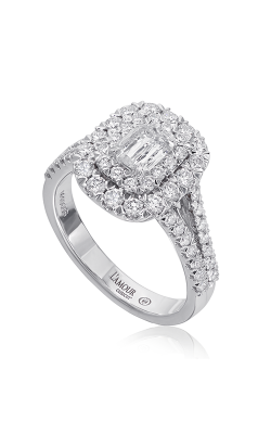 Christopher Designs Engagement Ring L158D-050 product image